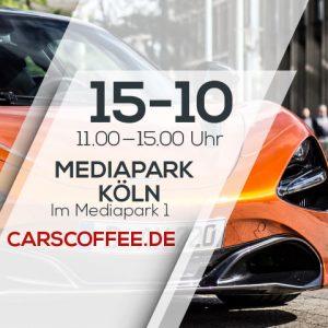CARS & COFFEE Köln im MediaPark