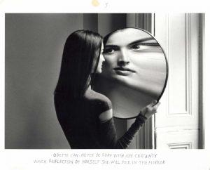 Duane Michals: Dr. Heisenbergs Serie, Bild 3, Courtesy Galerie Clara Maria Sels