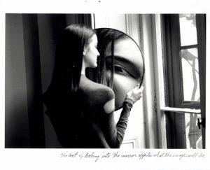 Duane Michals: Dr. Heisenbergs Serie, Bild 4, Courtesy Galerie Clara Maria Sels