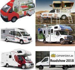 CamperDays.de – Wohnmobile aus 4 Kontinenten zum Anfassen in Köln!
