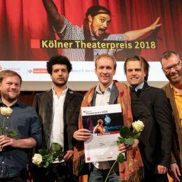 Die Gewinner der 29. Kölner Tanz- und Theaterpreise 2018