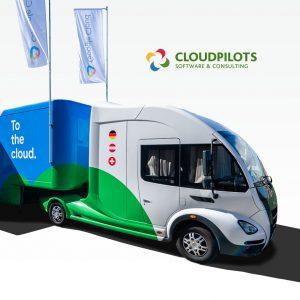 Einsteigen bitte: Wissen erleben mit den CLOUDPILOTS im Google Cloud Truck