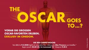 """Cinedom startet die """"Red-Carpet-Woche"""" zu den Oscars®"""
